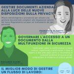 2018 ODISSEA GDPR: scopri come gestire a norma di legge i tuoi documenti aziendali
