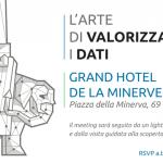 """""""L'ARTE DI VALORIZZARE I DATI"""" - Evento 27 settembre 2019"""