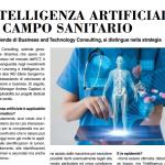 Intelligenza artificiale in campo sanitario: articolo su Italo Treno di Aprile 2020
